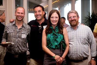 T.C., Craig Mathews, Megan White, and Eric Huhn