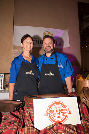 Patty Fletcher, and Darin Sehnert, Chef Darin's Kitchen Table