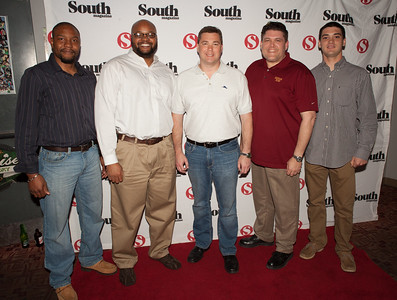 Chad Smith, Dan Smith, Bradley Brigman, Don Moyers and Ray Aiello