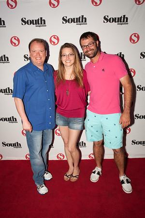 Greg Lard ,Stephanie Manet and Seth Patrick