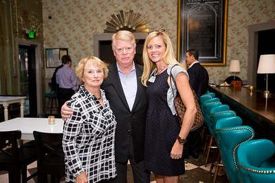 Patt and Paul Hensen with Karen Guin