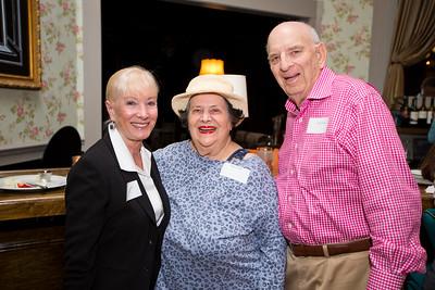 Edie Thomas with Danyse and Julius Edel
