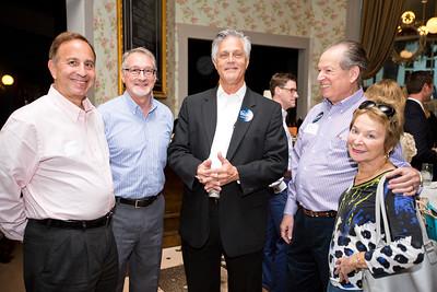 Jeff Kole, David Levy, Eddie Deloach, Allen Ratner and Arlene Ratner