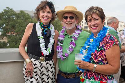 Kathy and Joe Virant with Beth Logan