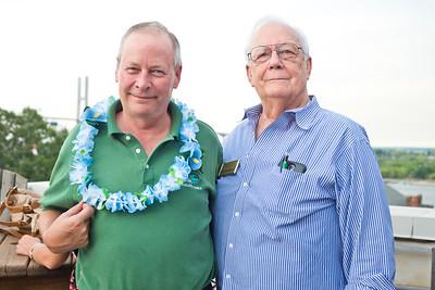 Kevin Hertswig (Visiting Angels) and Jim Goodman
