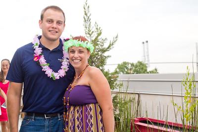 Kyle Nikola and Marcia Banes