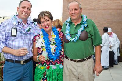 Jamey Espina, Beth Logan, and Kevin Hertzwig