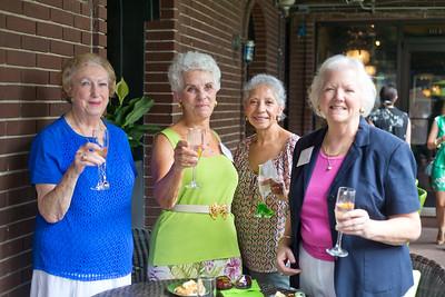 Lilian Stoltzman, Linda Brewster, Susan Gentry, and Jossie Bustos