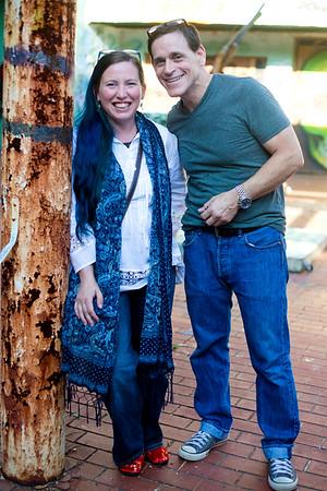 Danelle Lejeune and Tony Morris