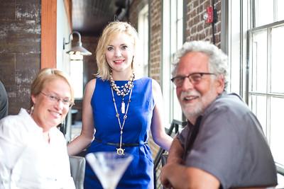 Libby Bacon, Tiffani Taylor, and Steve Buckner