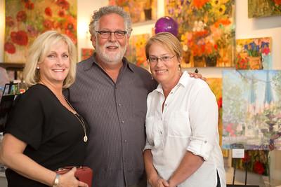 Tracy Rose, Steve Buckner, and Libby Bacon