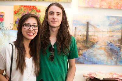 Courtney Lopez and Jeremy Verstegen