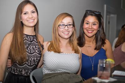 Estefania Silen, Rachael Flora, Natalie Crook