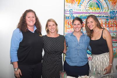 Pam Vejock, Kessica Pedigo, Laura Duttenhaver, and Audrey Cooling