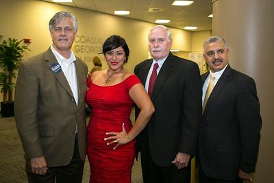 Eddie DeLoach, Diana Arevalo, John Wilcher, Alfonso Ribot