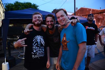 Evan Schaaf, Jack Heinz and Jonathan Bennett