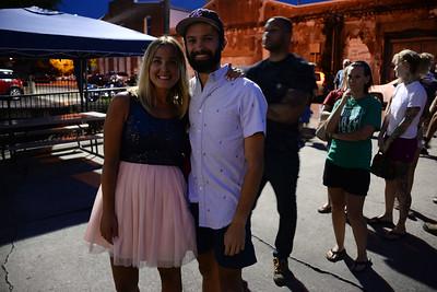 Lauren West and Justin Owen Hanson
