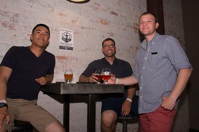 Ethan Naylor, Cameron Guilford, and Patrick Yoo
