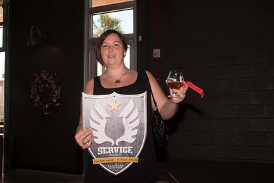 Raffle winner, Kayla Haney