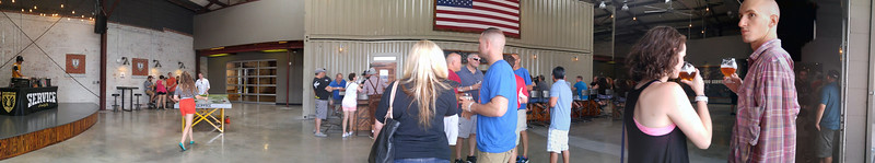 Panorama of the Service Brewing Company