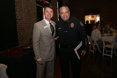 Ruel Joyner,  Police Chief Jack Lumpkin