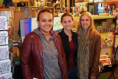 Rachel Mongelozo, Lucy Gross, Katie Rakowski