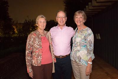 Carol Nasr, Fred Kanner, and Barbara Lynch