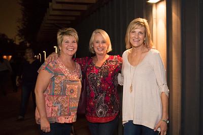 Elizabeth Harrelson, Judy Monroe, and Ann Collins