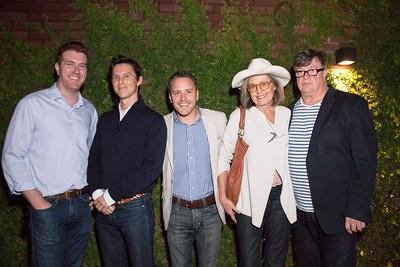 Dan Finn, Justin Hart, David Wilding, Mary Sanders, and Lynn Bowling