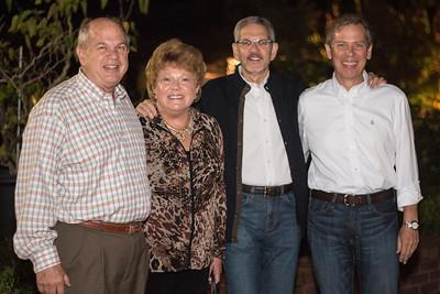 Dick Williams, Mary Williams, Daryl Chubin, and Tom Foley