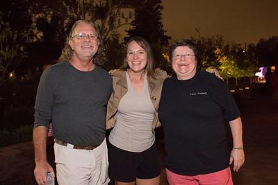 Sarah Elliott, Judy Branigin, and The Rev
