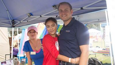 Kyle Nikola, Jaeda Ochoa, and Veronica Griner