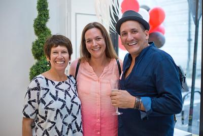 Cathy Colasanto, Nicki Thrasher, and Andre Noujaim