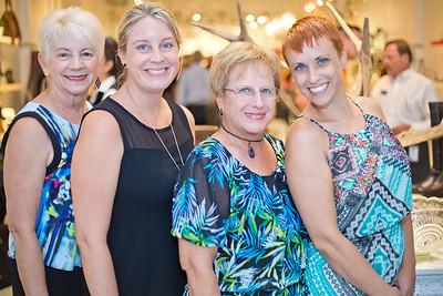 Barbara Parker, Cherese Waters, Joyce Shirkey, and Marcia Banes