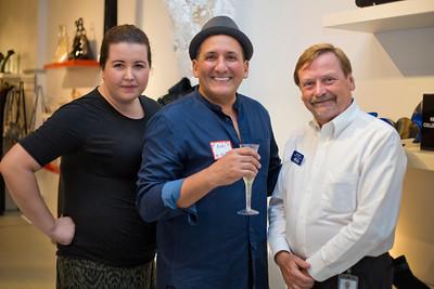Casey Crosier (Massage Studio), Andre Noujaim (Owner of Shoe Be Do), Ron Scalf (TLC)