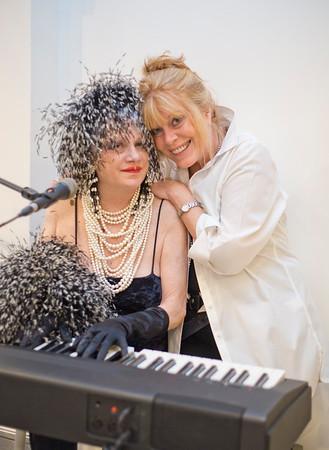 Diana Rogers and Elaine Zahn