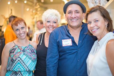 Marcia Banes, Crystal Higgins, Joann Lyon, and Andre Noujaim