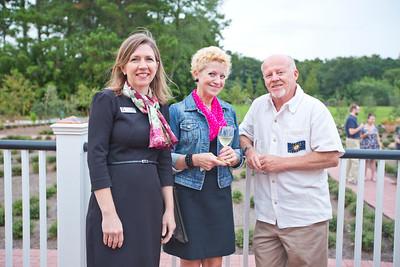 Lisa Grove (Telfair CEO), with Carol and Steve Young