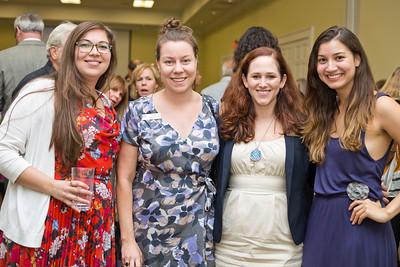 Katherine Alt, Holly Akkerman, Erin Dunn, and Kayla Medina