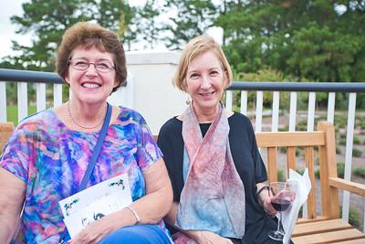 Mary Sue Reagan and Carol Anderson