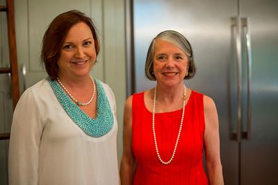 Jeanne Brooks and Trish Byrd