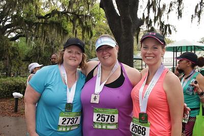 Mellanie Strong, Stephanie Peay, and Julie Paradowski