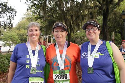 Dawn Miller, Regrina Wynn, and Megan Miller