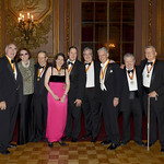 NES Presidents_Doran Mullen, Connie Greenspan, Stuart Baker, NES President Caroline A Camougis, Tom Hills, Scott Glascock, Arnold Neis, George Doyle, Alan Frese