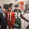 anniewatt_30131-Kevin O'Leary, New York Jets Football Player Darrelle Revis