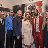 anniewatt_30130-Kevin O'Leary, ___, Nick Korniloff, Pamela Cohen, New York Jets Football Player Darrelle Revis, Miranda Korniloff
