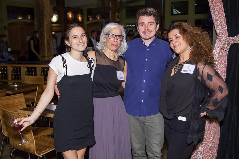 IMG_2230 Natalie Coppa, Lory Sherman, Matt Clark, Cidalia Costa
