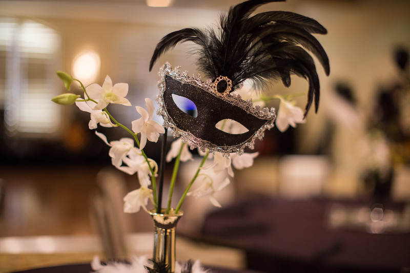 Masquerade Ball Detail Shots 2017