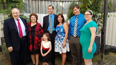 front: Madeline Jamie Timmons (daughter of David & Stefani Timmons) back, L to R: Thomas Timmons, Patricia Carol Johnson Timmons, David Thomas Timmons, Stefani Waterman Timmons, Daniel James Timmons, Brianne Ingalls Timmons (expecting in Feb, 2018)