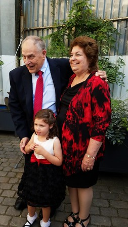 (back): Tom, Carol, & (front): Madeline Timons